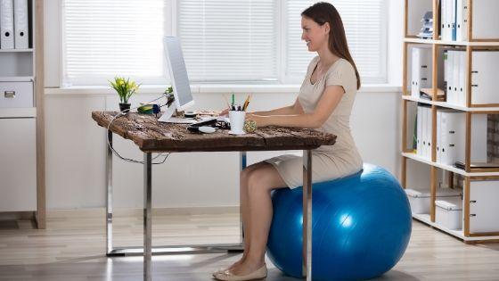 Como sentarte bien en la oficina